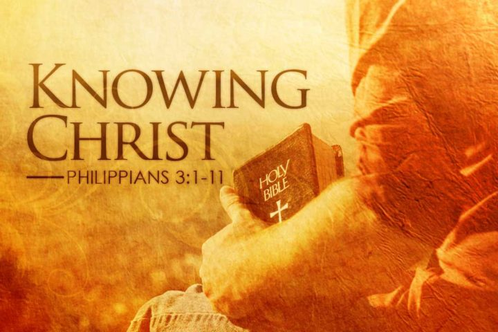 Knowing Christ